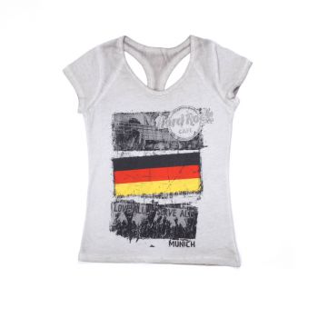 Women's Flag Racer Back Tee