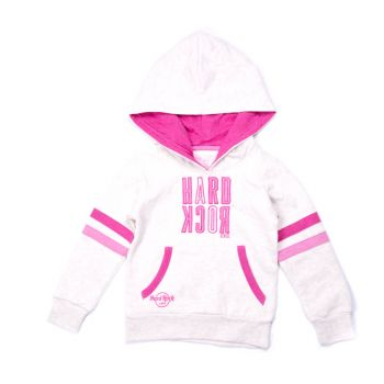 Girls Applique Pullover Hoodie