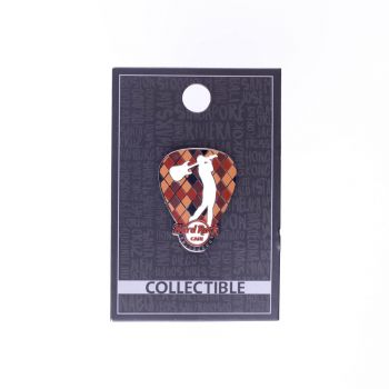 Edinburgh Golf Guitar Pick Pin