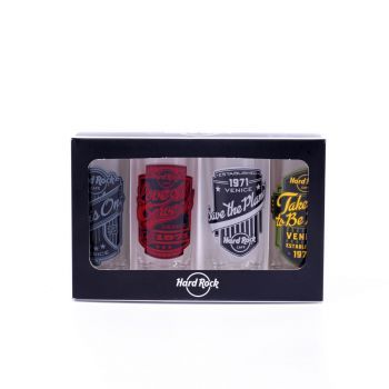 Mottos 4 Pack Cordial Set