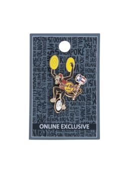 Twisted Circus Monkey Pin