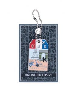 Luggage Tag Series Paris
