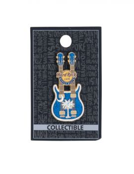 Myrtle Beach Palmetto Guitar Pin