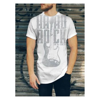 Men's Super Size Guitar Tee
