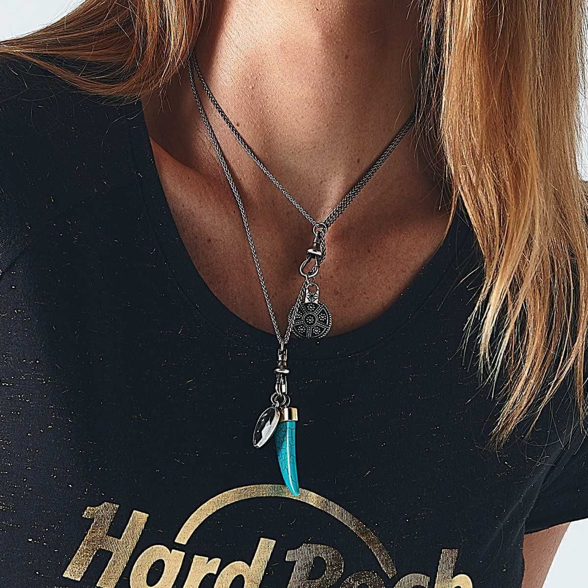 Convertible Charm Necklace