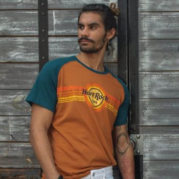 Heritage Men's Retro Sunrise Tee