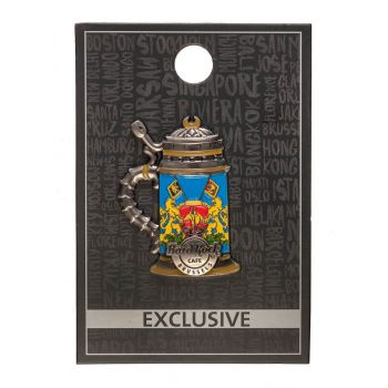 Brussels 3D Flag Stein Pin