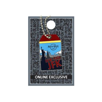 New York Luggage Tag Pin
