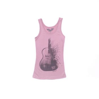 Women's Guitar Logo Tank