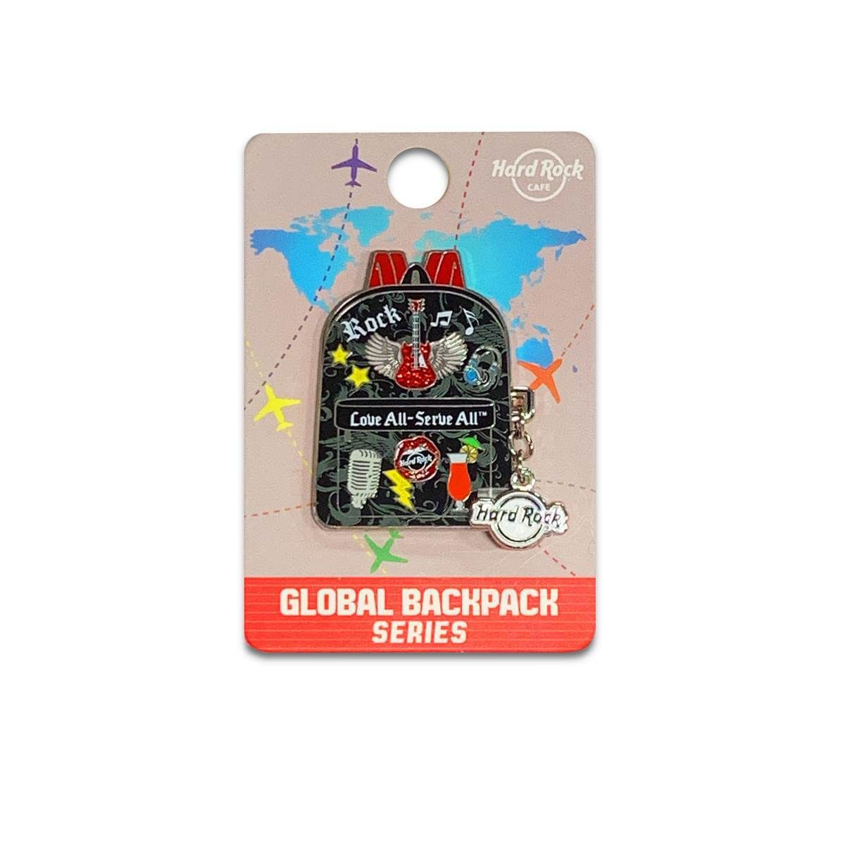 Backpack Global Series Pin 2019
