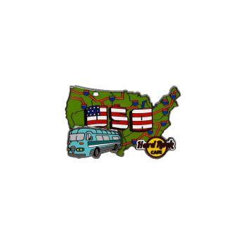 USA RV Series Pin