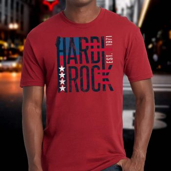 Men's Limited Edition Stars and Stripes Tee