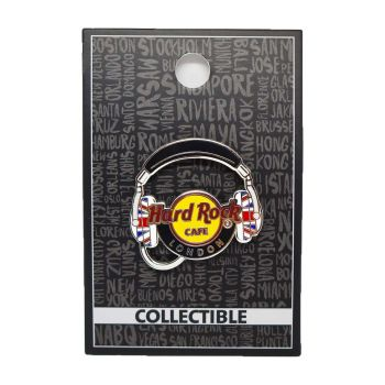London Core Headphones Pin