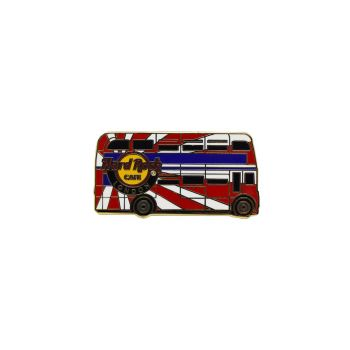 London Core Double Decker Bus Pin