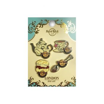 London High Tea Pin Set