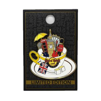 Piccadilly Tea Cup Pin