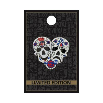 London Theater Mask Pin