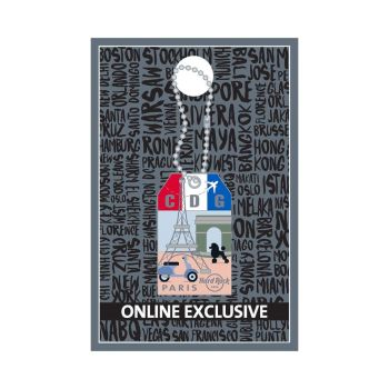 Paris Luggage Tag Pin