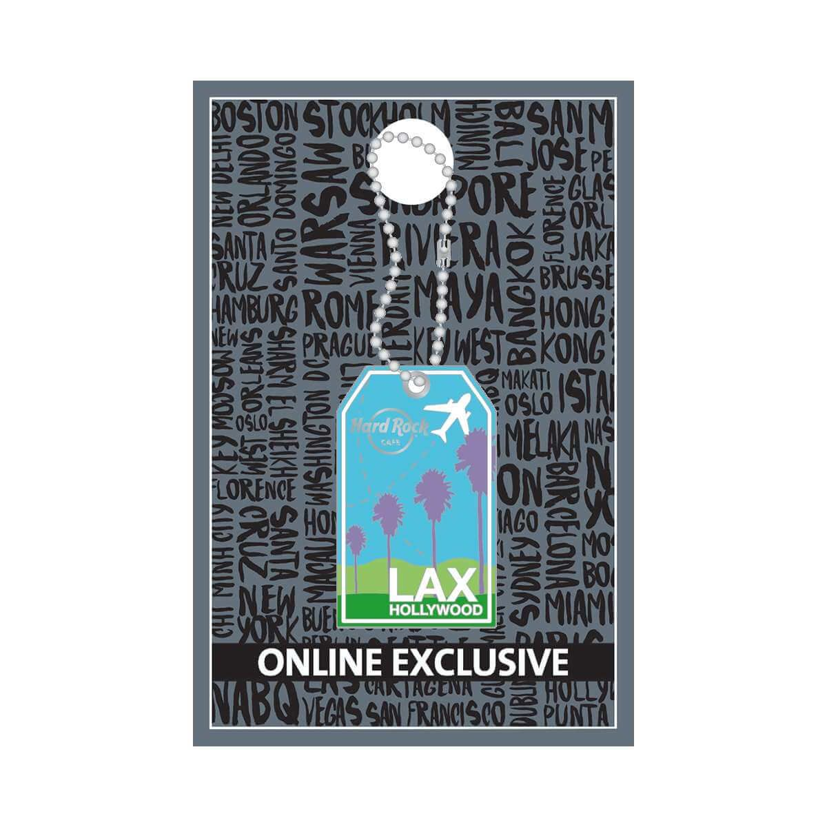 Los Angeles Luggage Tag Pin