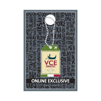 Venice Luggage Tag Pin