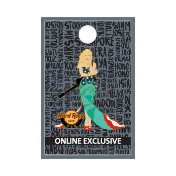 USA Cityscape Gown Pin