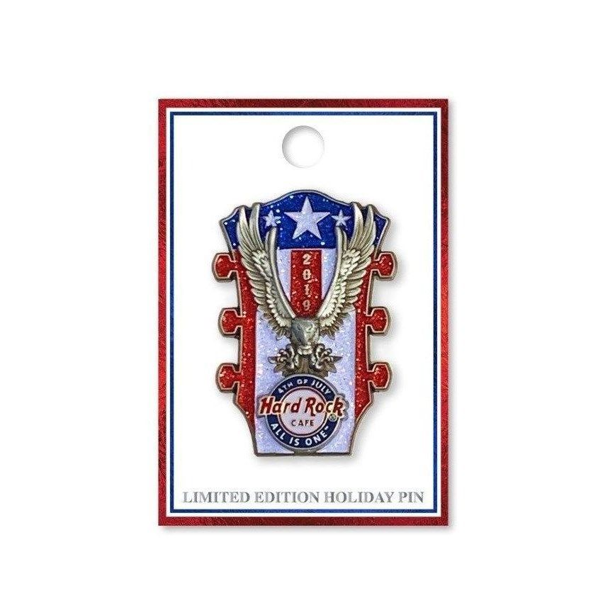4th of July Eagle Headstock Pin 2019