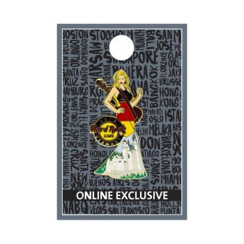 Germany Cityscape Gown Pin