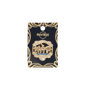 2018 Gold Filigree Pin Series