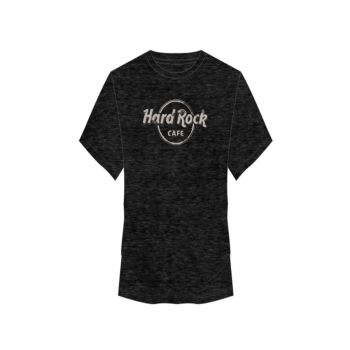 Men's Faux Applique Logo Burnout Tee