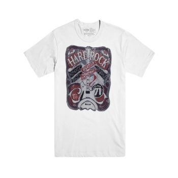 Men's Guitar Applique Graphic Tee