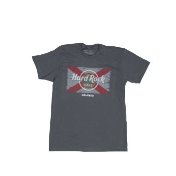 Men's Flag Repeat City Local Name Tee