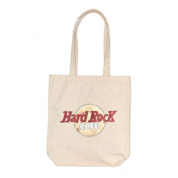 Heritage Logo Canvas Tote Bag