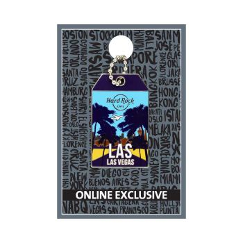 Las Vegas Luggage Tag Pin