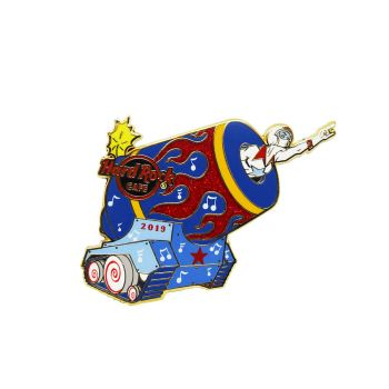 Twisted Circus Cannon Girl Pin
