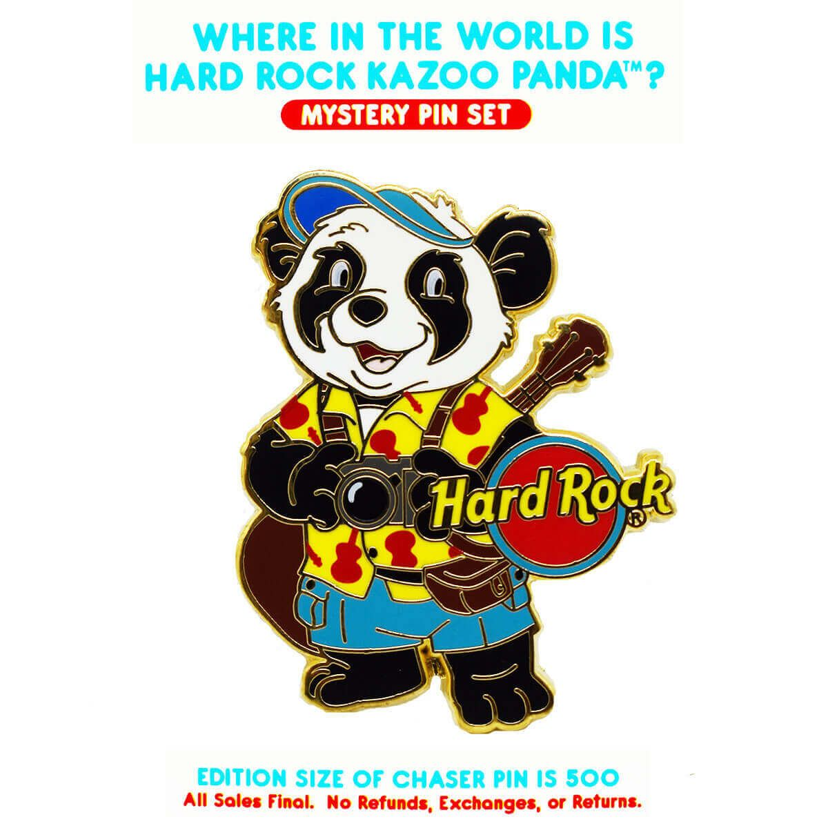 Kazoo The Panda Mystery Pin