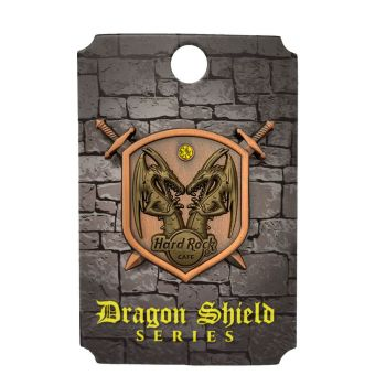 Dragon and Shield Pin