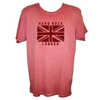 Men's Union Jack Flag Washed Flag Tee