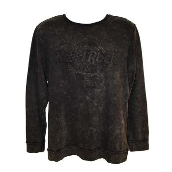 Men's Raw Edge Fleece Crew