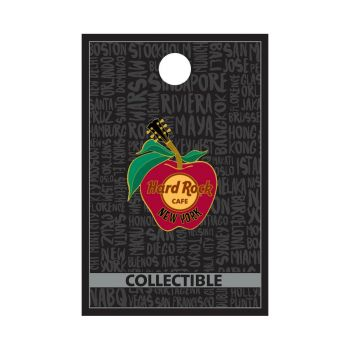 New York Apple Logo Pin