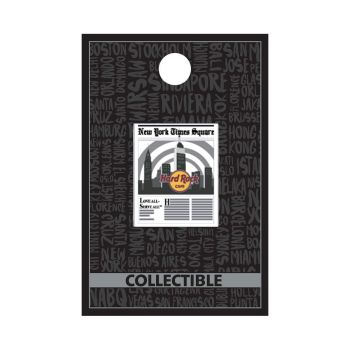 New York Core Newspaper Pin