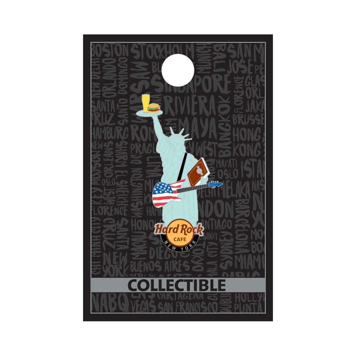 New York Liberty City Pin