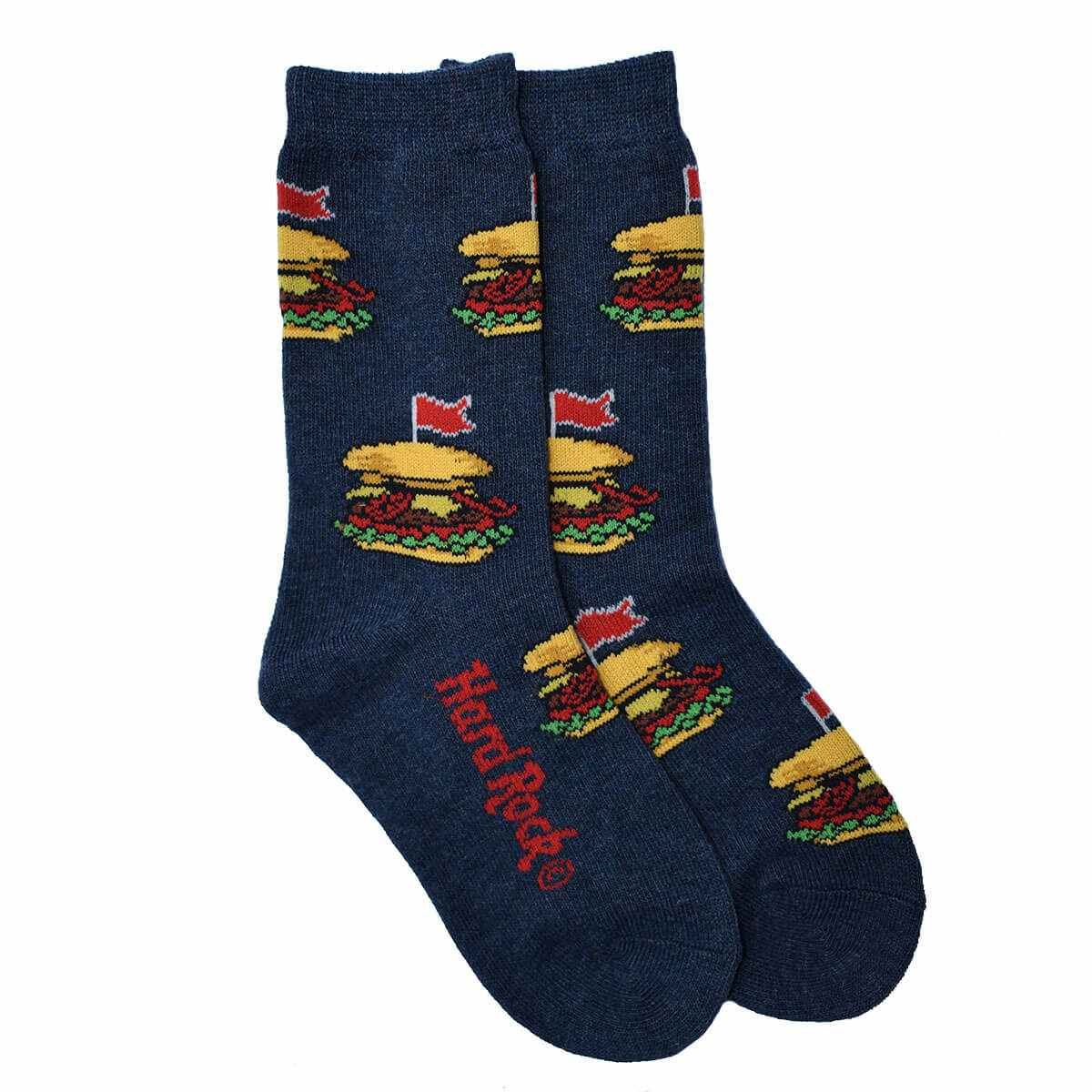 Kid's Legendary Repeat Burger Socks