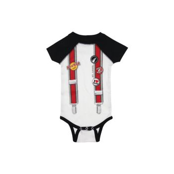 Boys Infant Suspenders Onesie