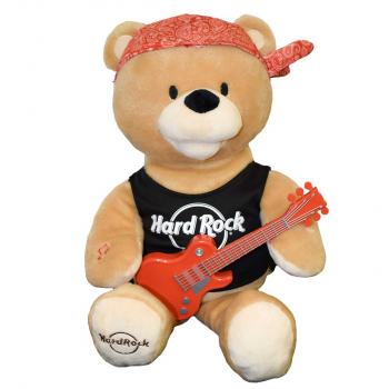 Animated Plush Rock Bear