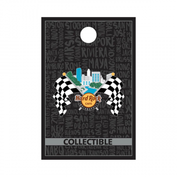 Indianapolis Core Checkered Flags Pin