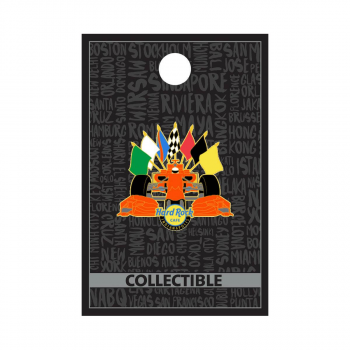 Indianapolis Racing Flags Pin