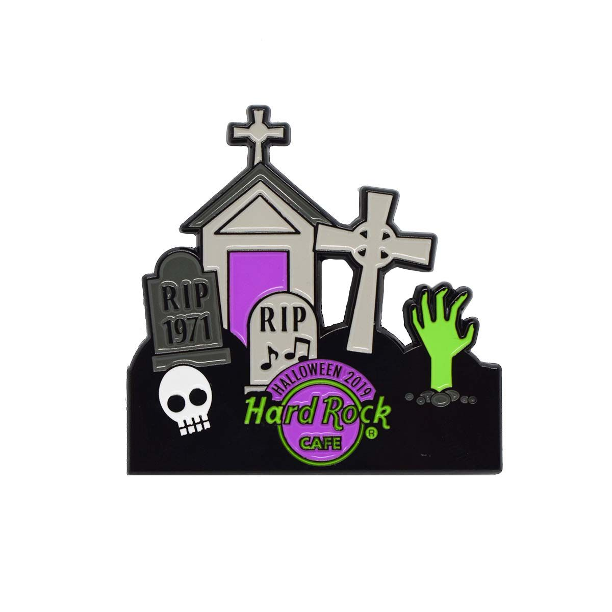 Halloween Haunted House Puzzle Series Pin 2019