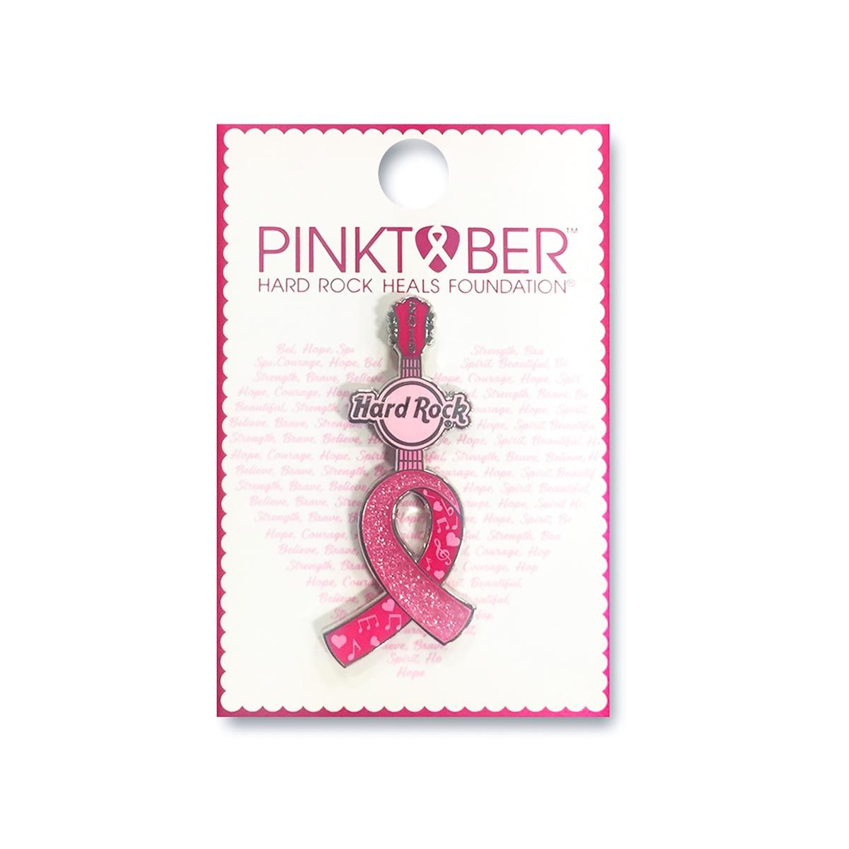 Pinktober Ribbon Pin 2019