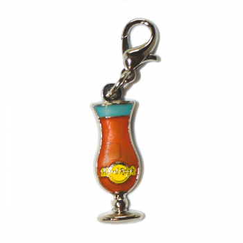 Hurricane Glass Charm