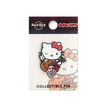 Hello Kitty Playing Guitar Pin 2019
